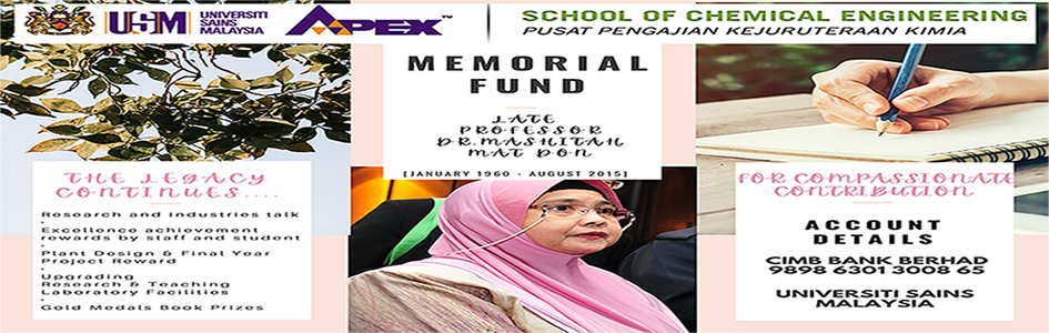 Memorial Fund of Prof Dr Mashitah Mat Don