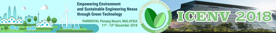 International COnference on Environment ICENV 2018
