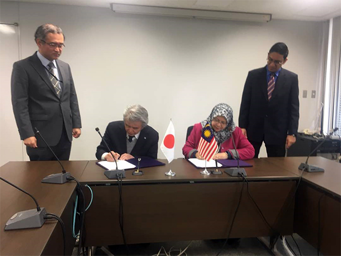 USM Signs MoA with OSAKA University
