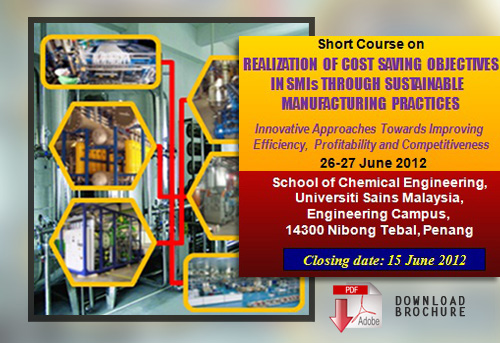 Short Course on Cost Saving in SMIs Brochure